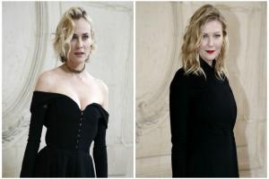 Diane Kruger and Kirsten Dunst win in the style stakes at Dior show in Paris