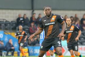 Barnet John Akinde's goalscoring traits again proved vital for the Bees. Picture: Action Images
