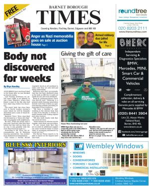 Times Series: Read the e-edition of this week's Barnet Borough Times and access our online archive