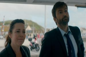 An exchange about mackerel got too intense for Broadchurch viewers