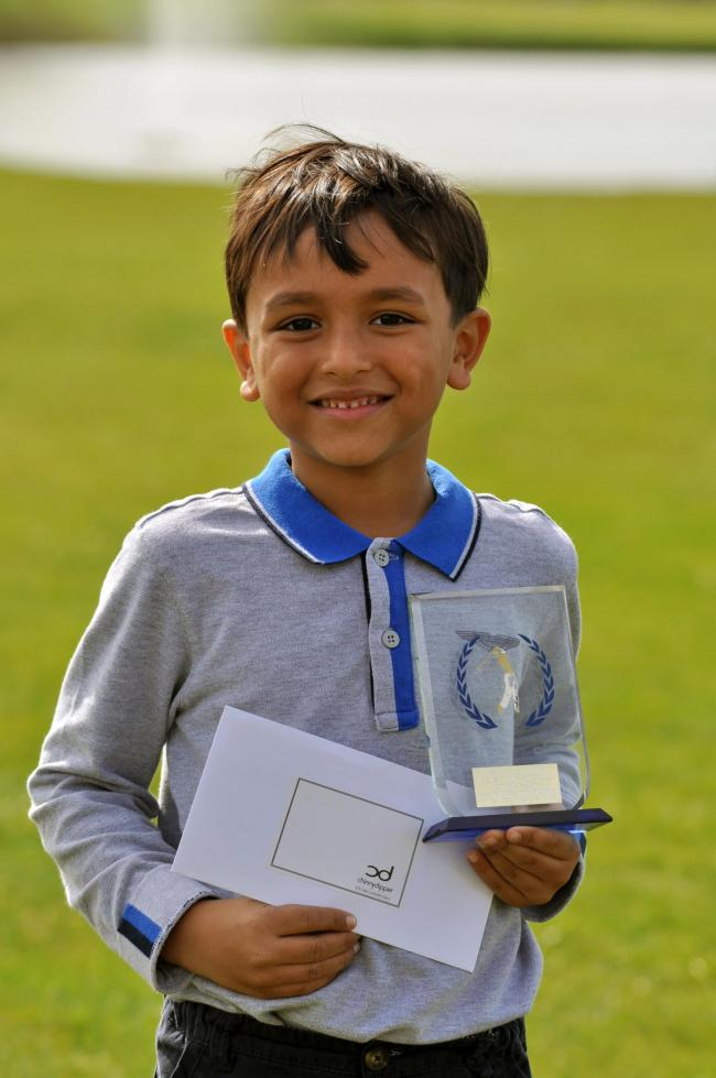 Six-year-old golfer qualifies for national finals