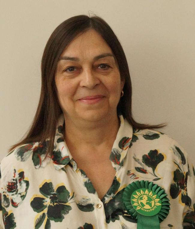 Green Party candidate Adele Ward