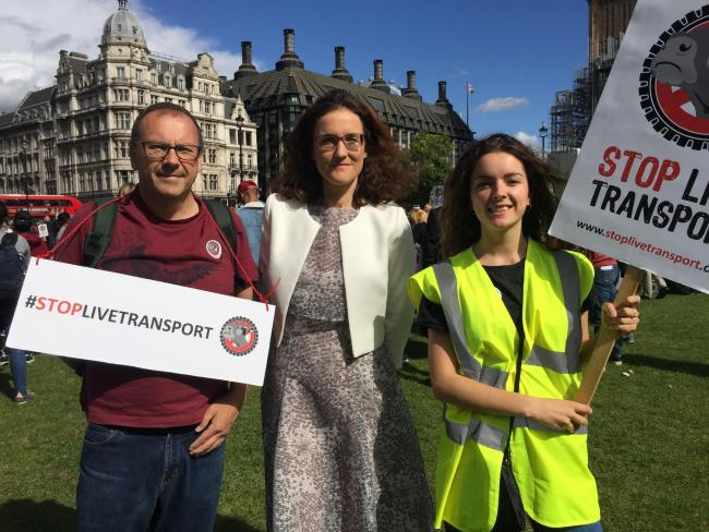 Image result for theresa villiers live animal exports