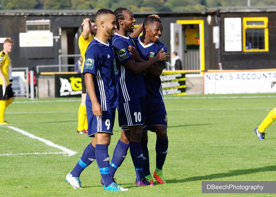 Niko Muir scored his 14th goal of the season at Worthing. Picture: DBeechPhotography