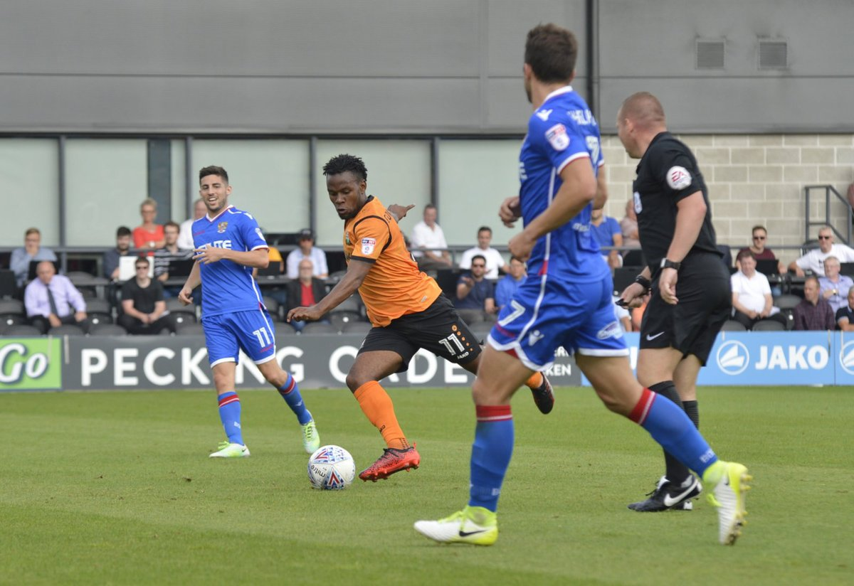 Shaq Coulthirst scored Barnet's injury-time winner. Picture: Len Kerswill