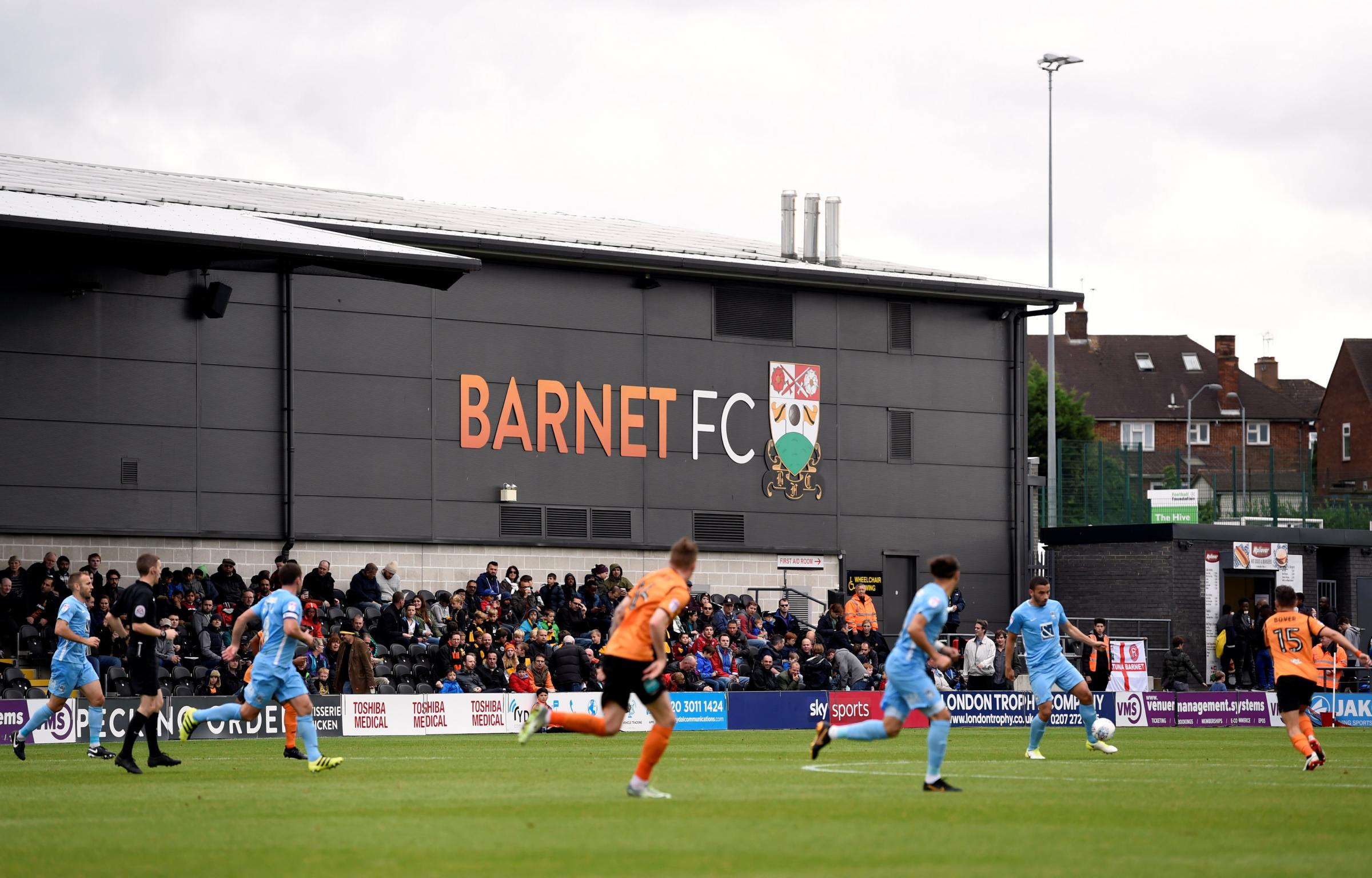 Promotion-chasing Coventry City were unable to break down Barnet. Picture: Action Images