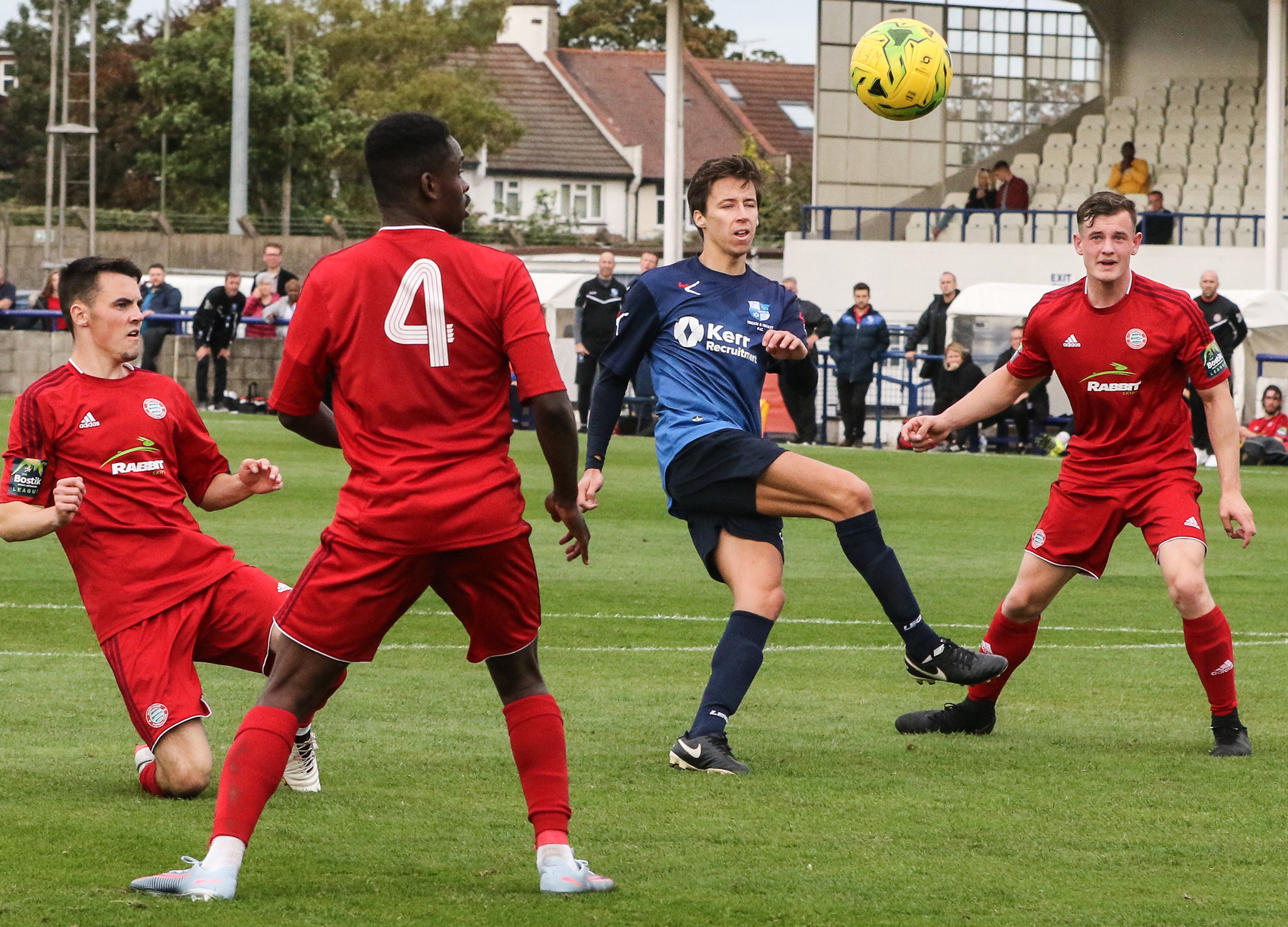 Wingate and Finchley were narrowly beaten in Tonbridge. Picture: Martin Addison