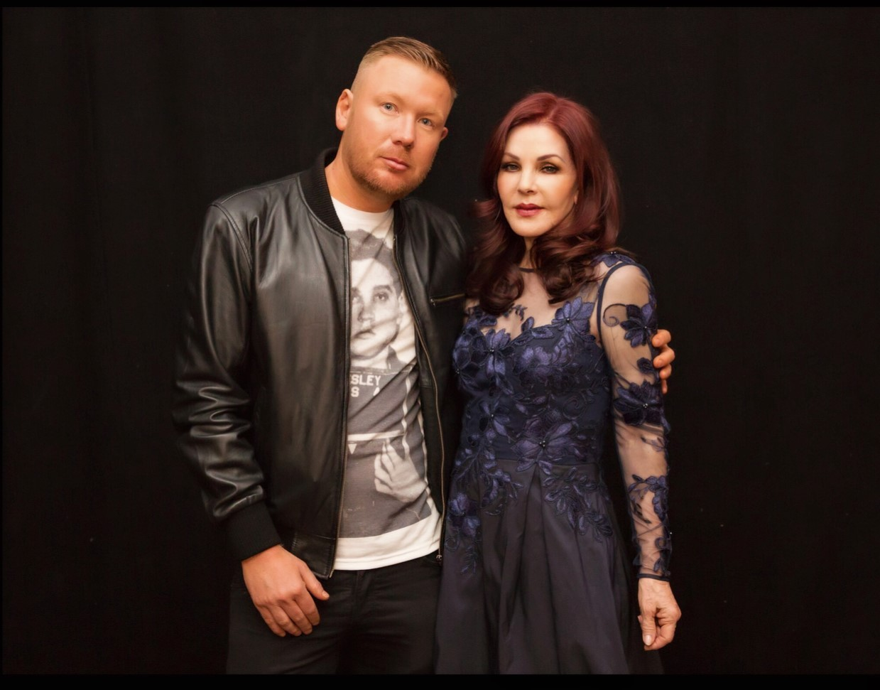 Ray Tigwell and Priscilla Presley at The O2