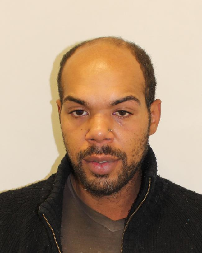 Nigel Nursey, 30, from Southgate, is wanted for questioning by Colindale Police regarding a theft