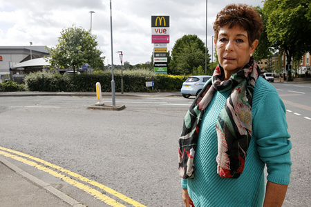 Barbara Goodman concerned over road safety at North Finchley Leisure Centre