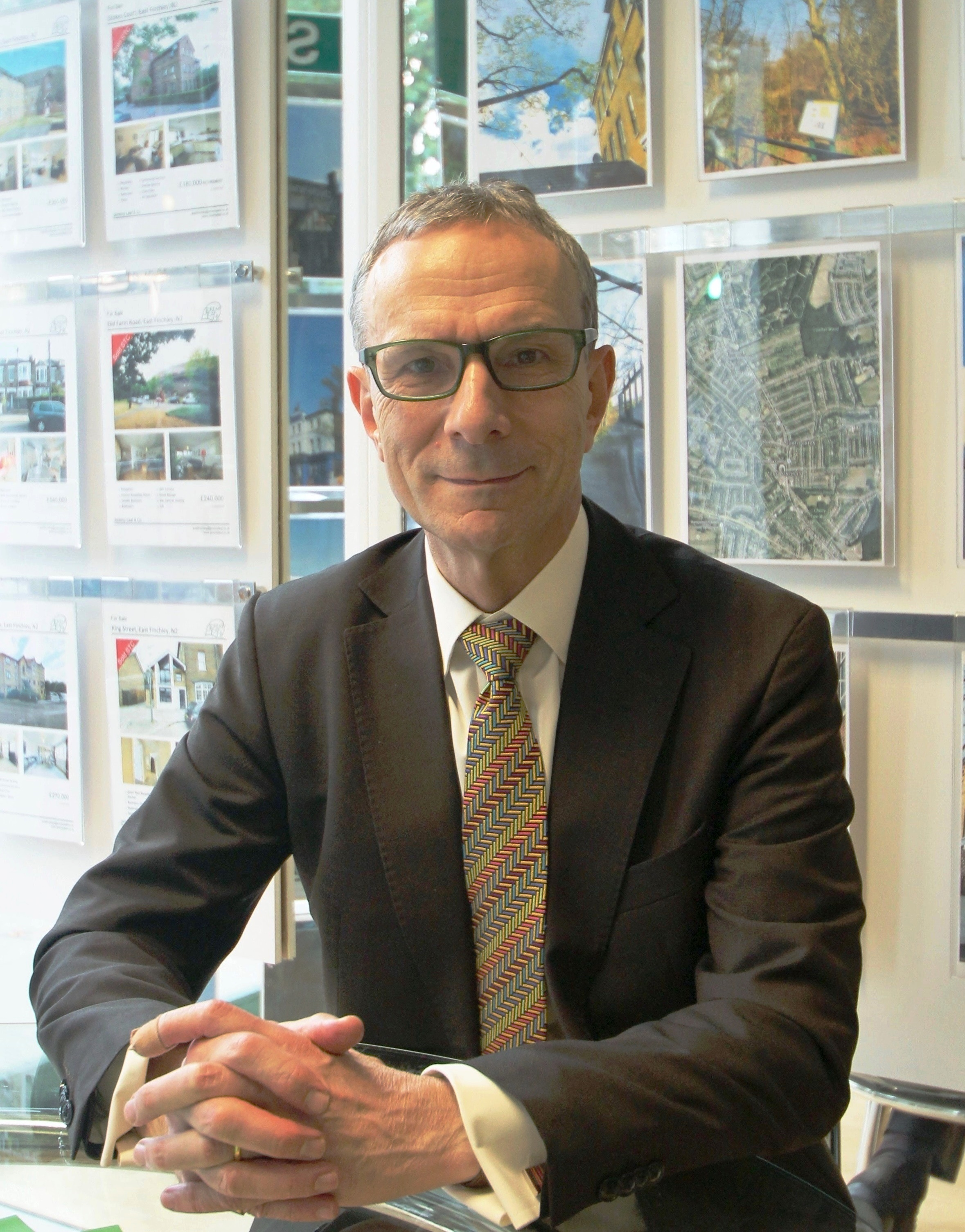 Jeremy Leaf, a former RICS residential chairman & independent North London Estate Agency owner
