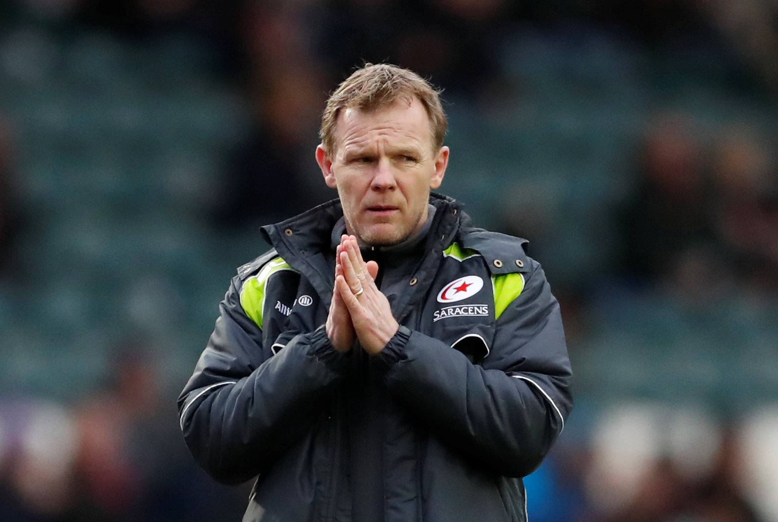 'We're a good club and a good side and hopefully we can bounce back from this': Mark McCall. Picture: Action Images