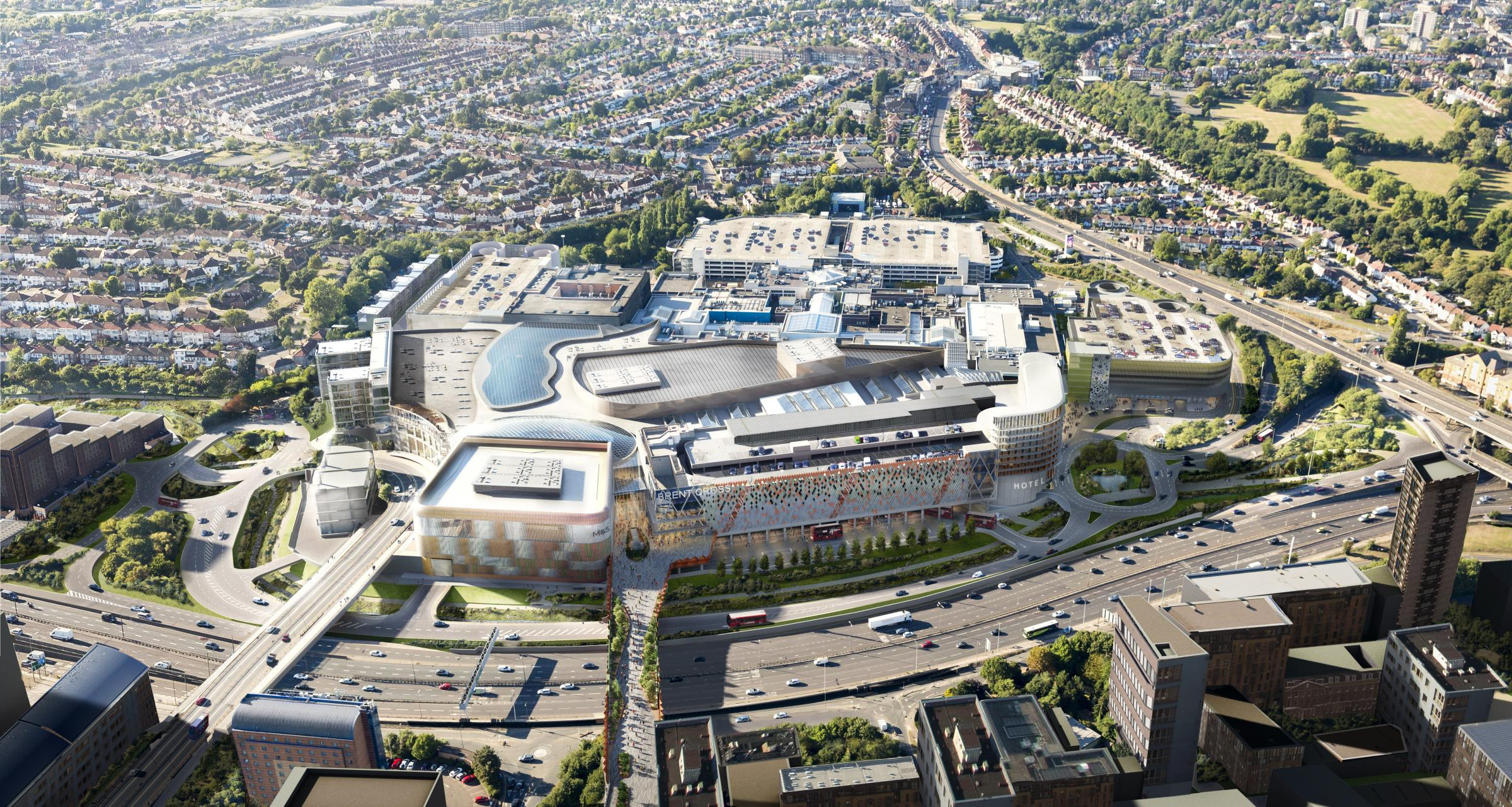 Brent Cross Cricklewood regeneration the subject of public meeting