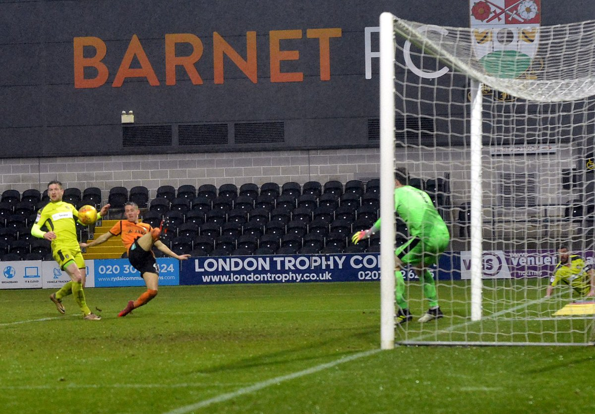 Barnet were unable to follow up their weekend victory by adding to their points tally. Picture: Len Kerswill