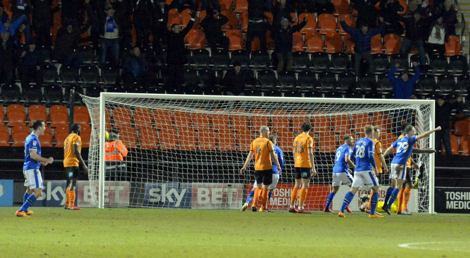 Barnet's game with Port Vale has been postponed. Picture: Len Kerswill