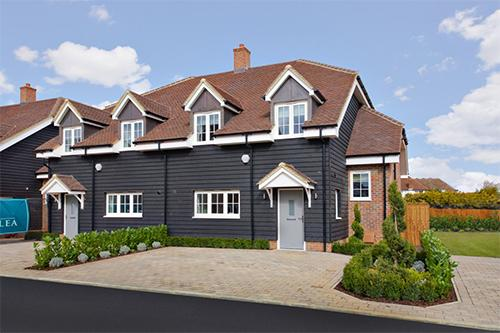 First show home unveiled at luxury village development