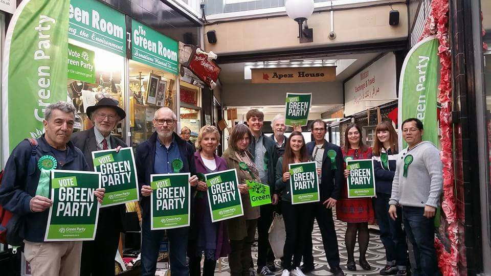 Barnet Green Party's campaign launch