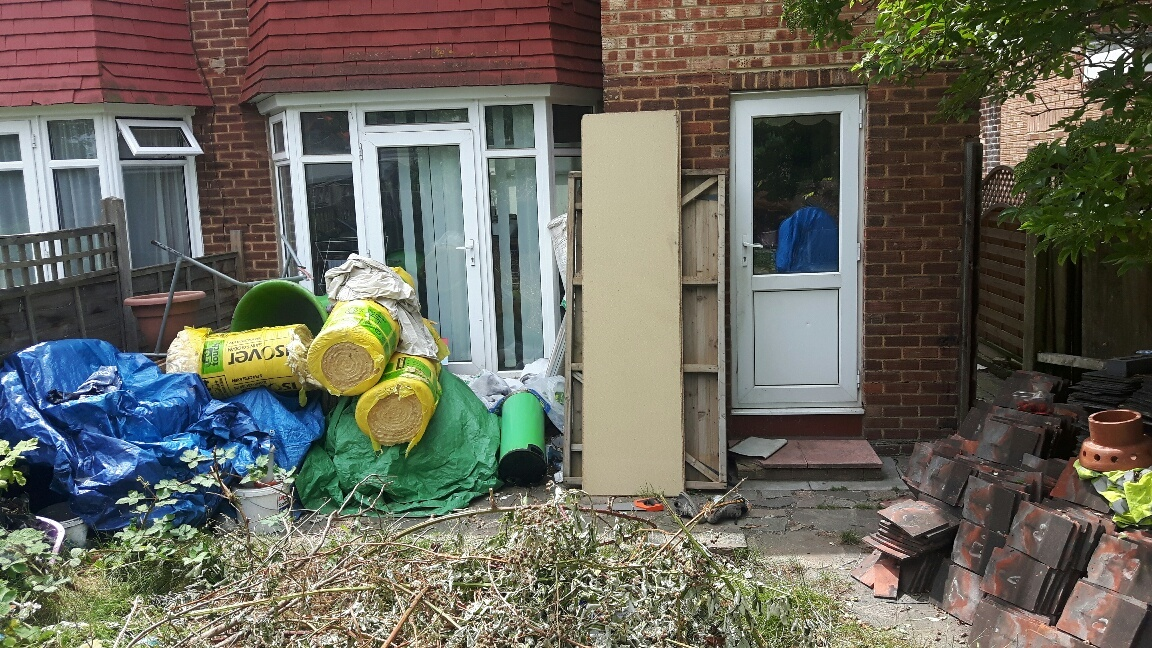 Patrick Cusack, 51, Pentland Close, Golders Green, was jailed for two months after repeatedly ignoring requests for him to clear the front and back gardens of his semi-detached home.
