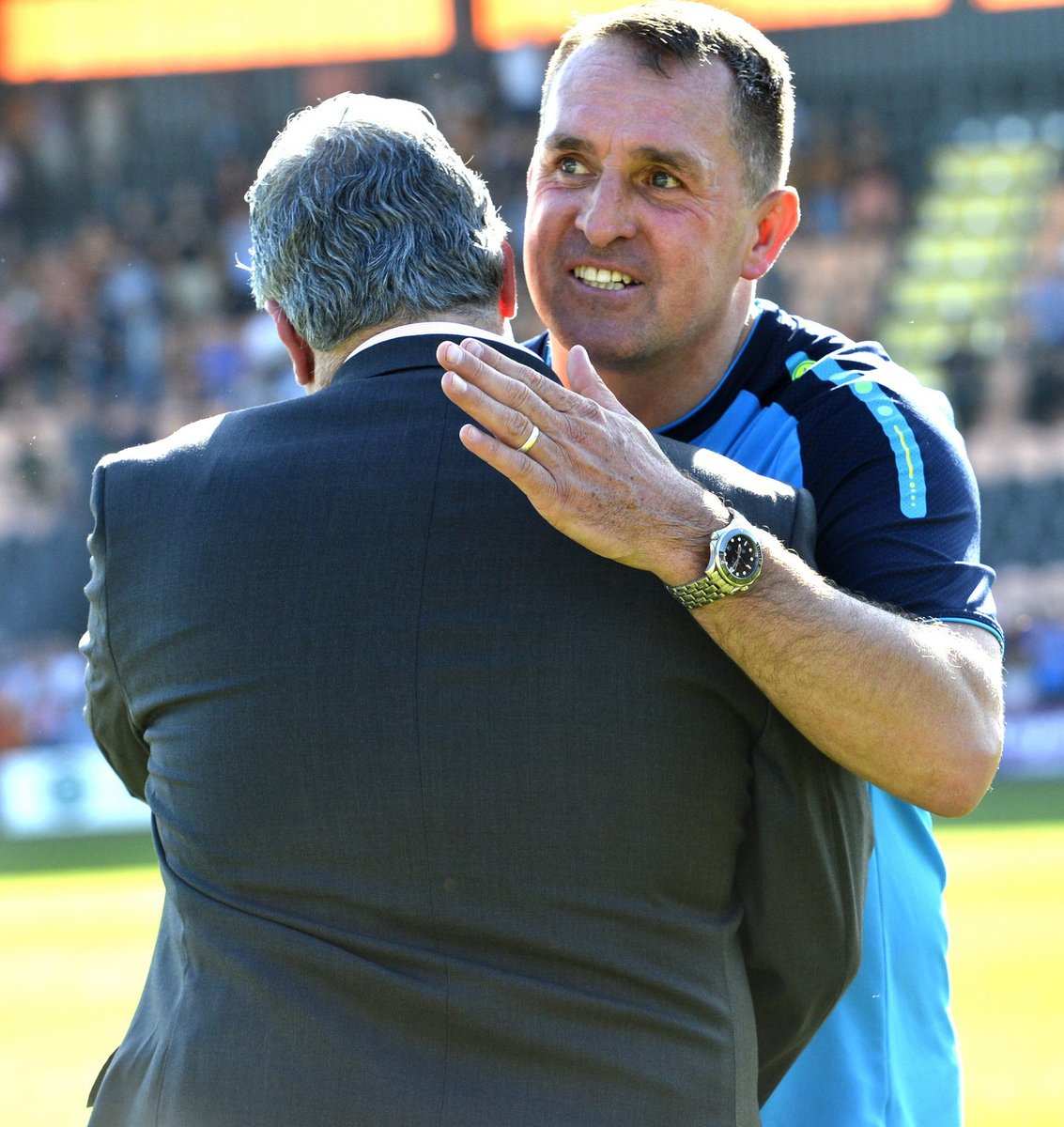 Martin Allen has left Barnet after his fifth spell in charge of the club. Picture: LEN KERSWILL