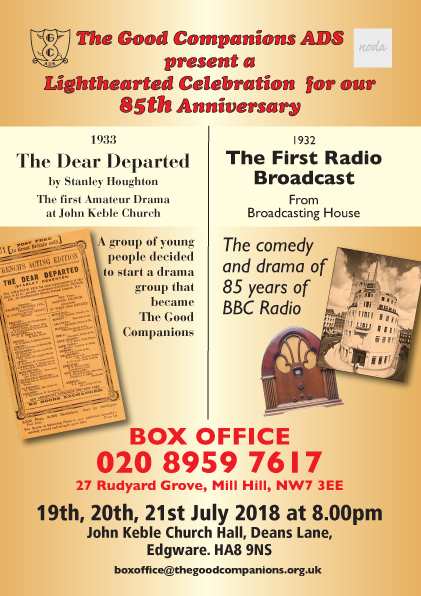 The Dear Departed by Stanley Houghton plus 85 years of radio