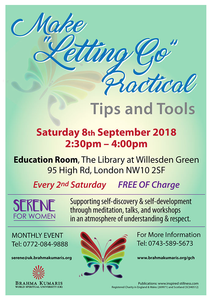 "Make ""Letting Go"" Practical"