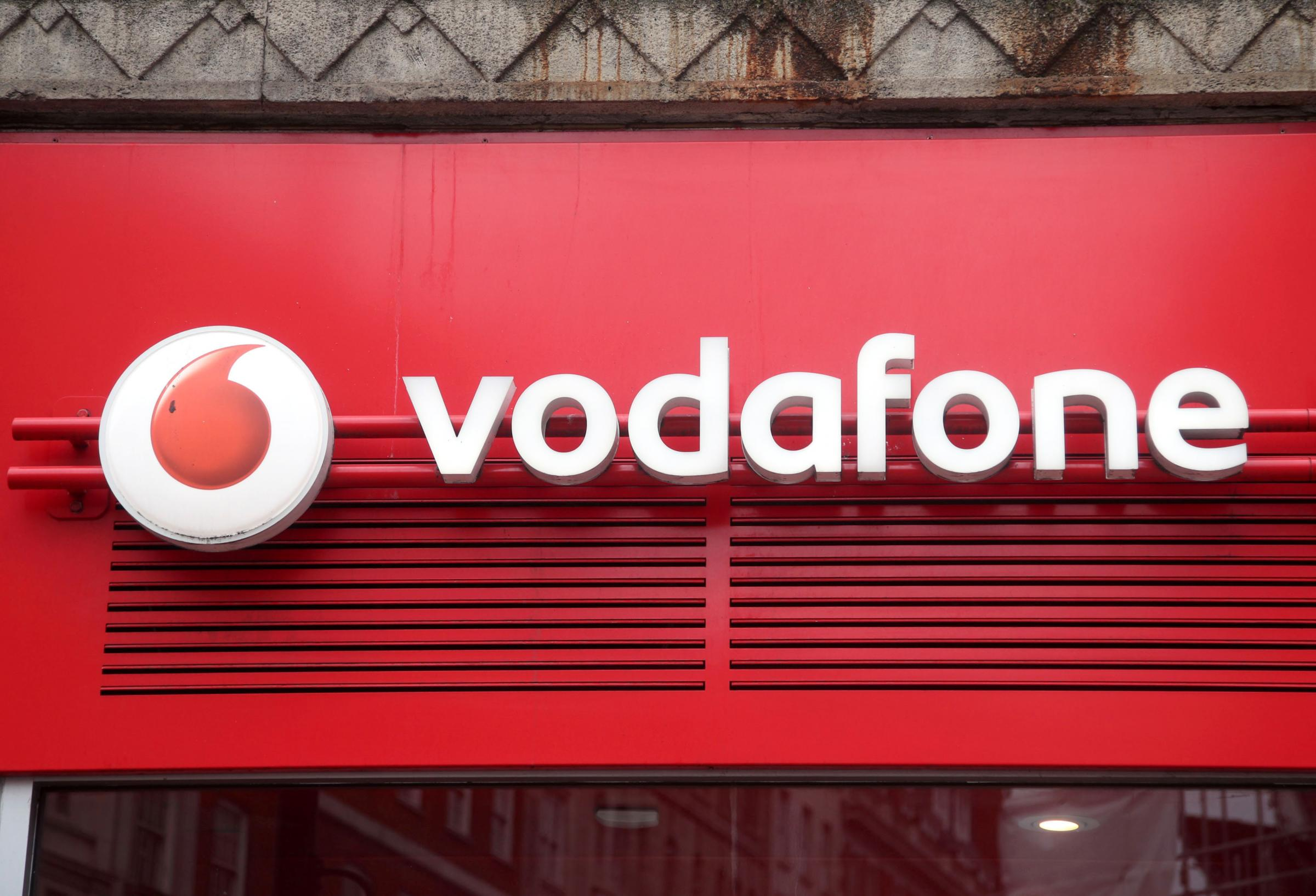 Vodafone adverts banned