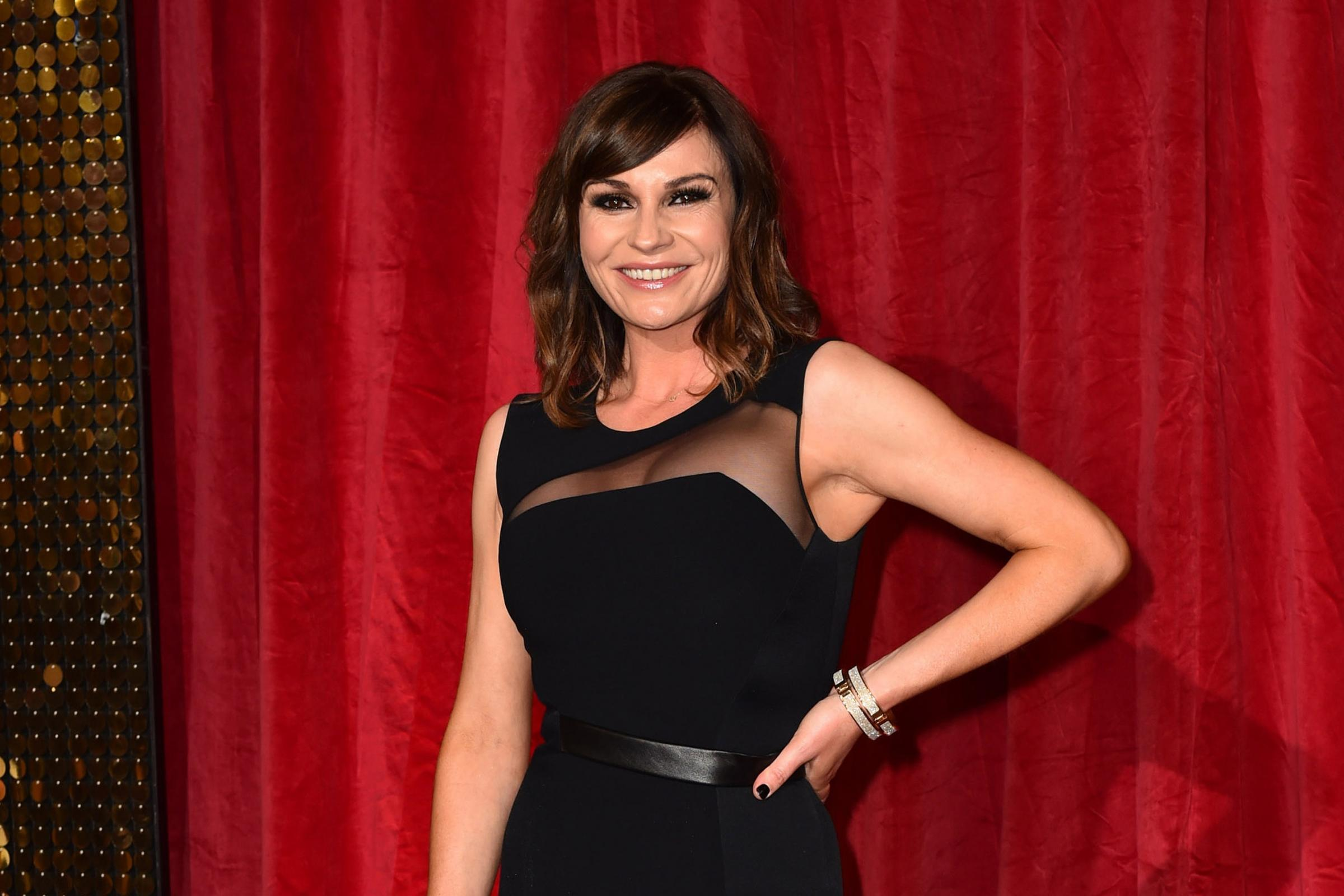 Lucy Pargeter on the red carpet