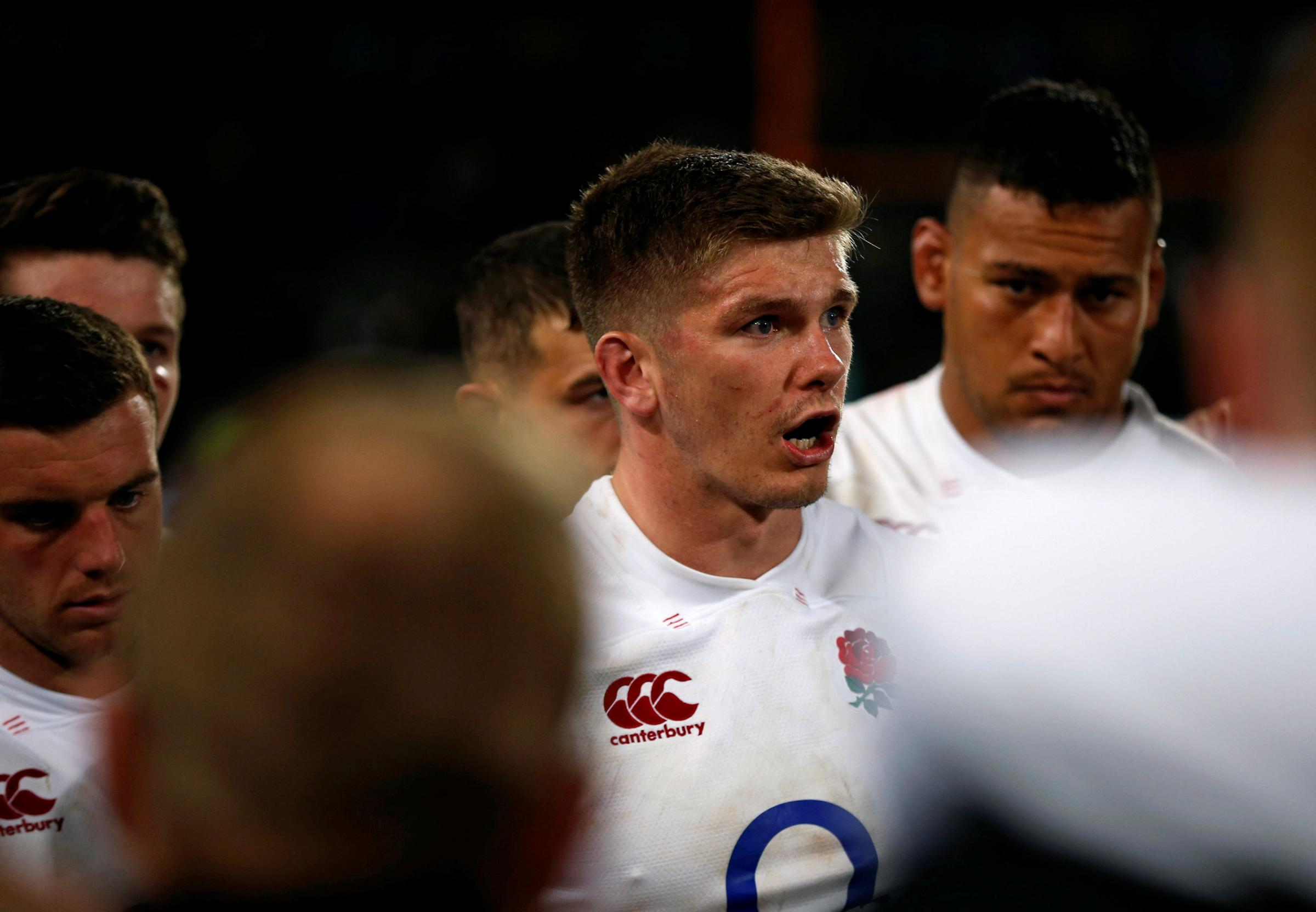 Owen Farrell will co-captain England on Saturday. Picture: Action Images