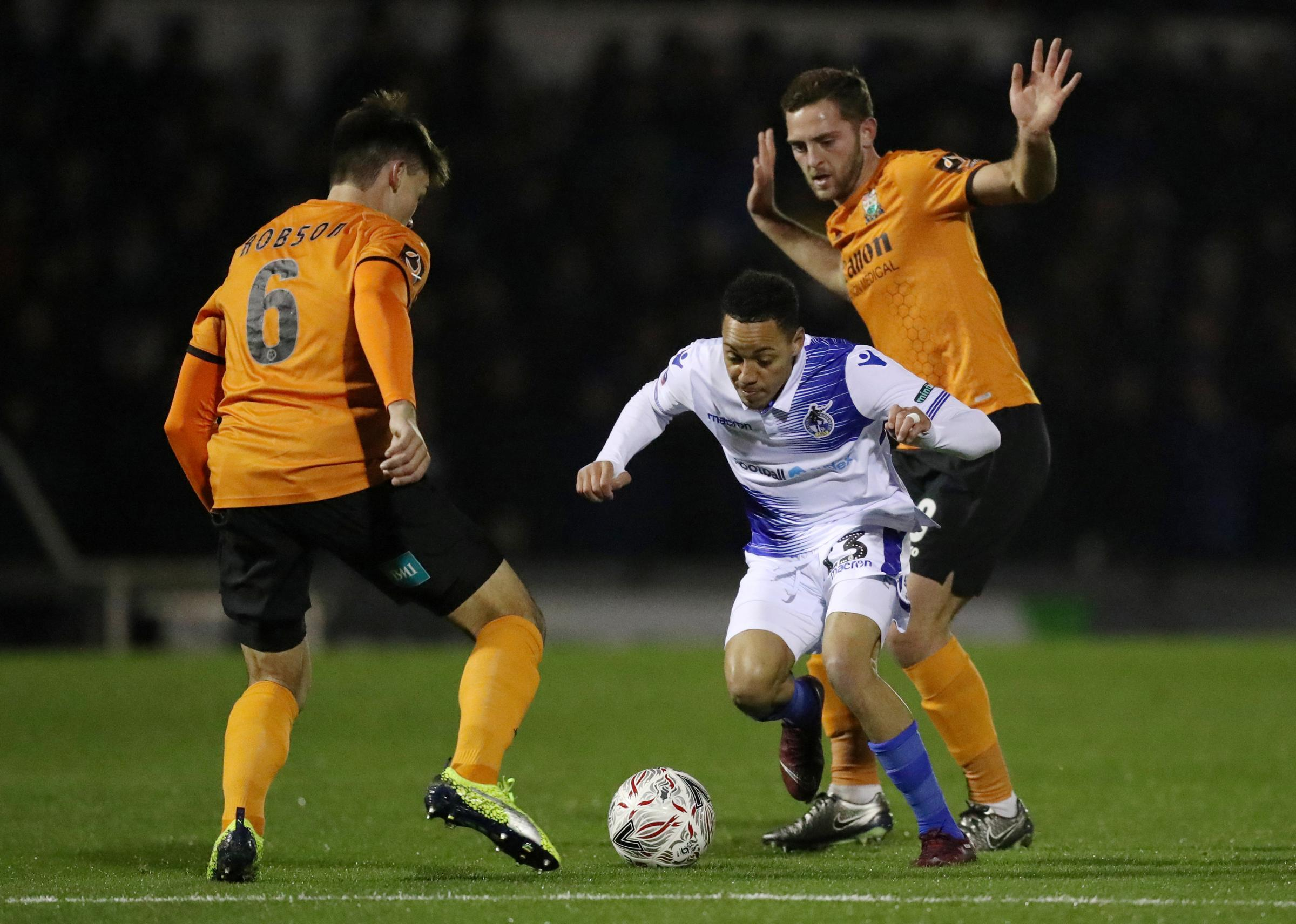 Barnet were unable to follow up their cup win at Bristol Rovers with another victory. Picture: Action Images