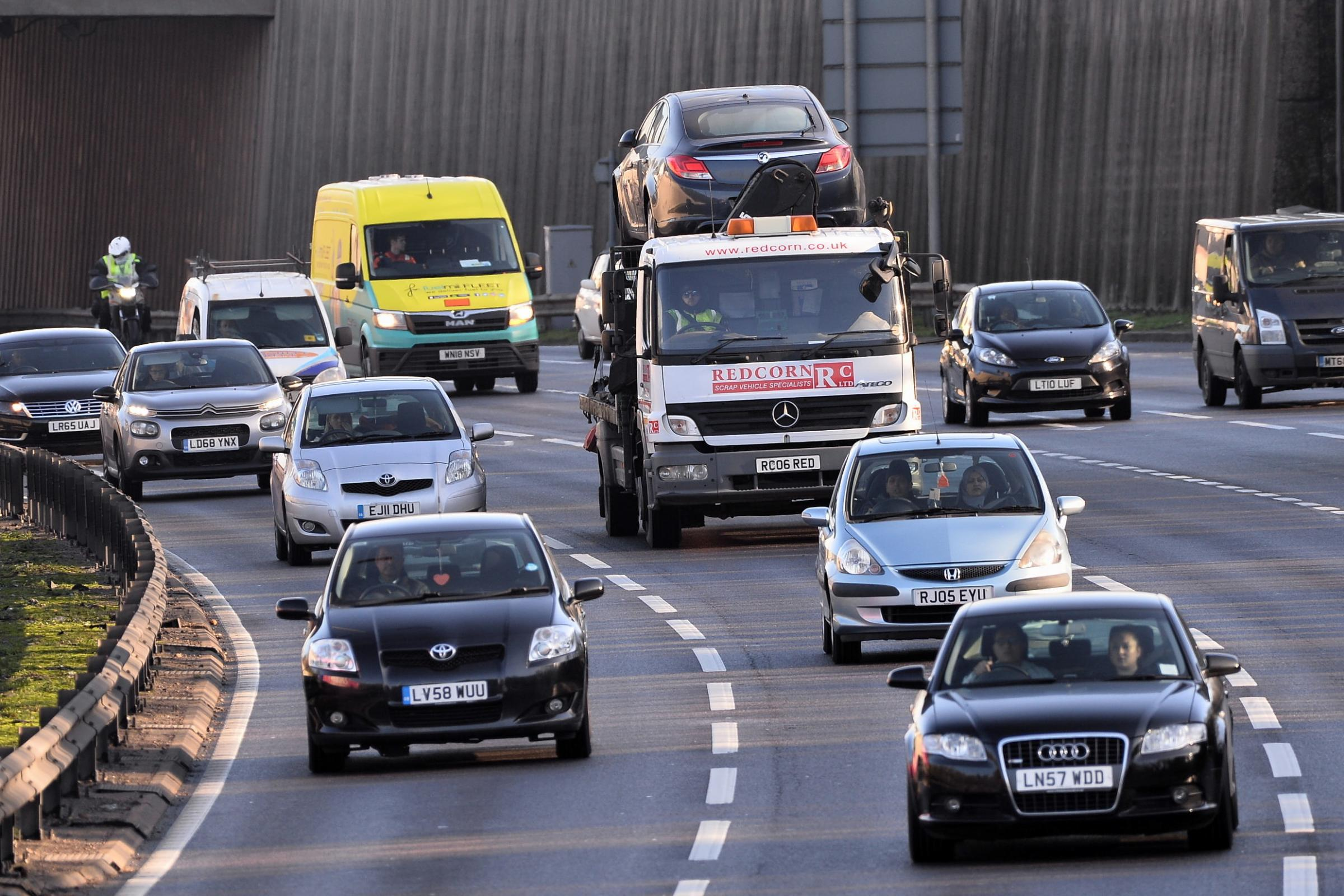 Morning update: Severe delays on the M25 and a traffic signal failure are causing disruption