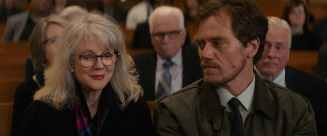 Undated film still handout from What They Had. Pictured: Blythe Danner as Ruth Keller and Michael Shannon as Nick Keller. See PA Feature SHOWBIZ Film Reviews. Picture credit should read: PA Photo/Bleecker Street/Universal Pictures. All Rights Reserved. WA