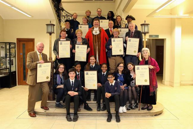 Civic Awards @ Hendon Town Hall 3rd April 2019