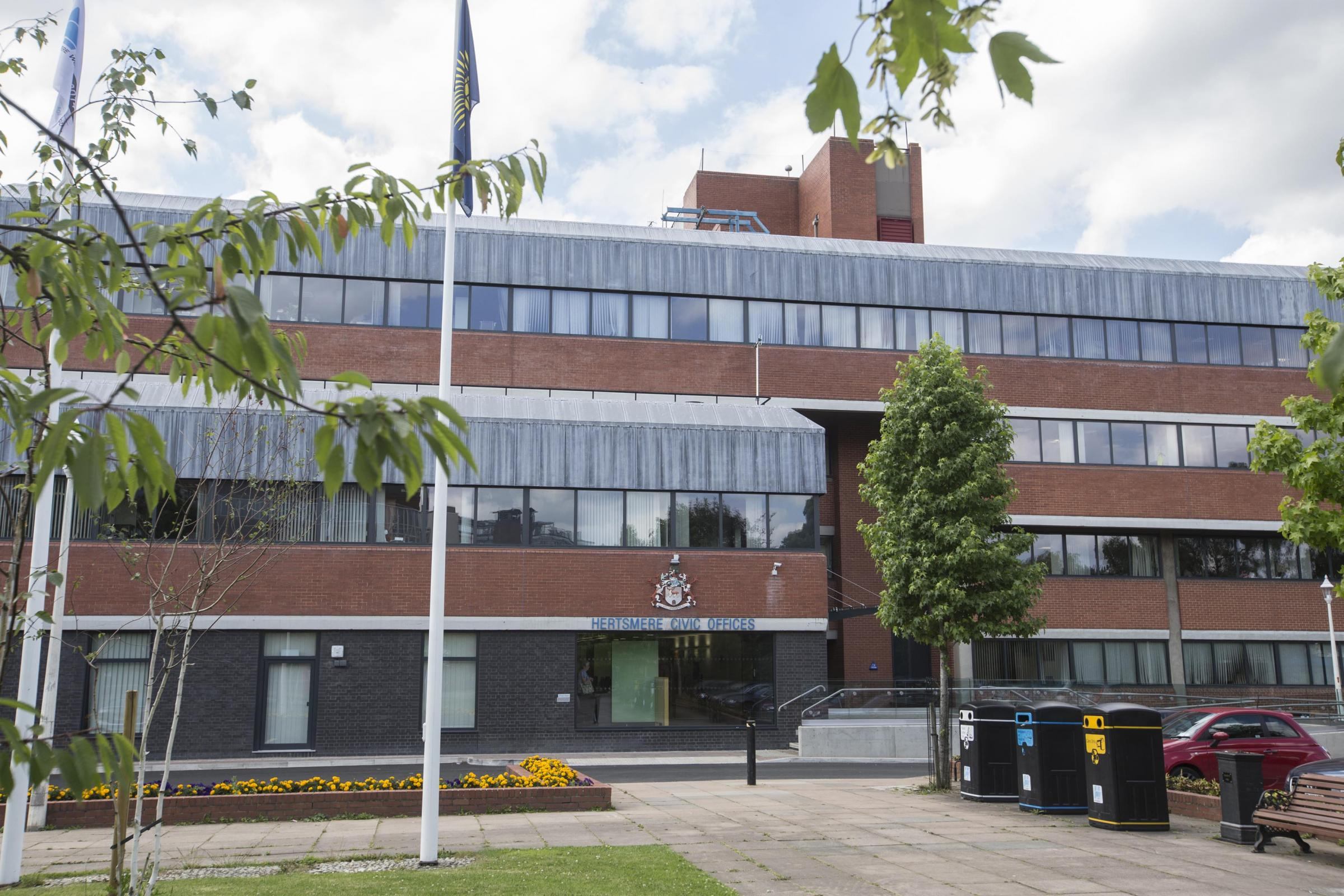Hertsmere Borough Council offices