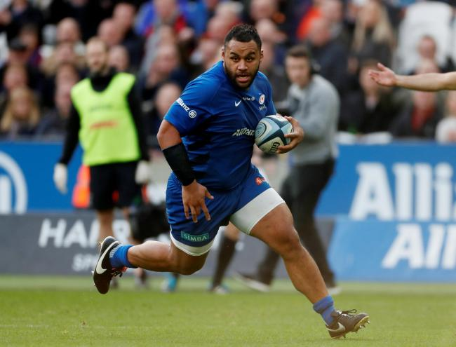 Billy Vunipola in action for Saracens. Picture: Action Images