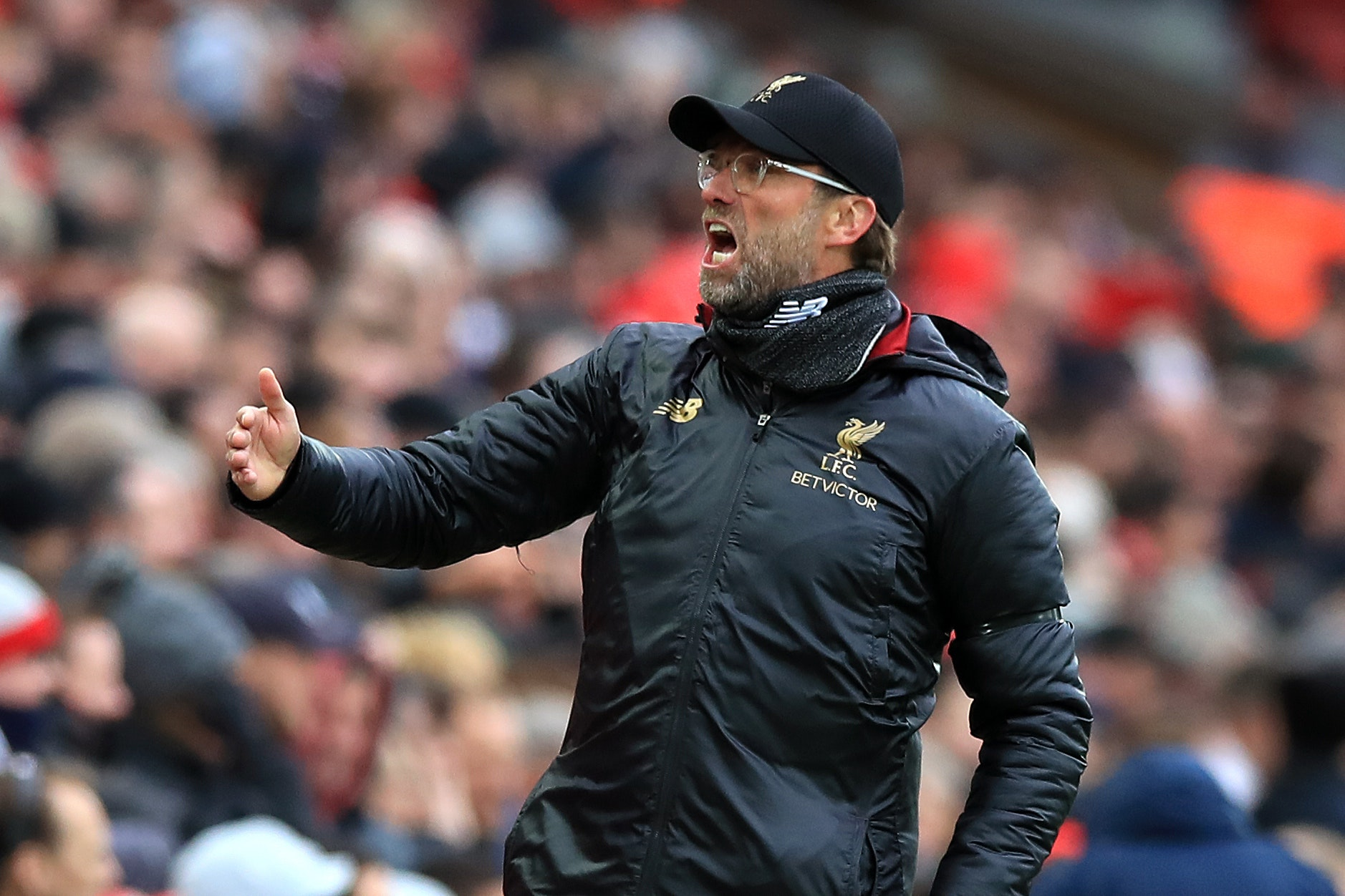 Liverpool manager Jurgen Klopp has set his sights on a club-record points haul in their close title race with Manchester City