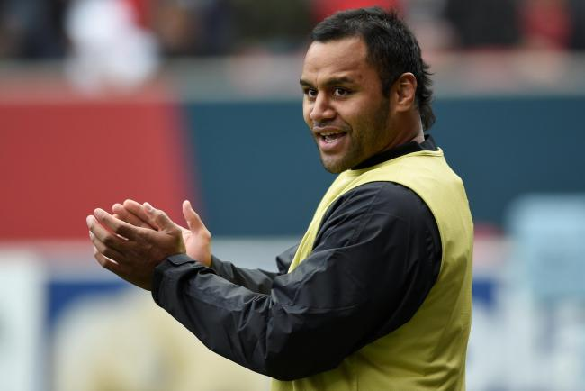 Billy Vunipola 'has been reminded of his responsibilities as an England player and as an ambassador for the game, which values inclusivity and respect'. Picture: Action Images