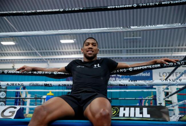 Anthony Joshua says the fans are missing out due to the politics in the heavyweight scene. Picture: Action Images