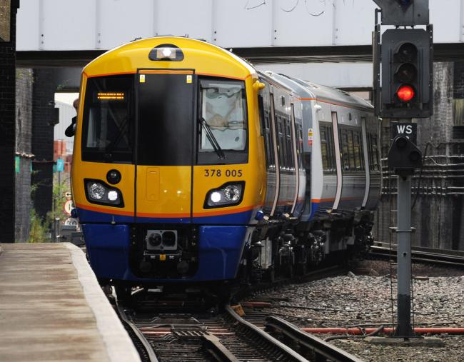 File photo dated 13/07/09 showing London overground train. Staff on London Overground are to stage a fresh strike in a dispute over pay. PRESS ASSOCIATION Photo. Issue date: Tuesday April 30, 2019. Members of the Rail, Maritime and Transport (RMT) union w
