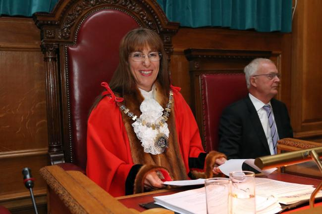 Barnet's new mayor, Cllr Caroline Stock