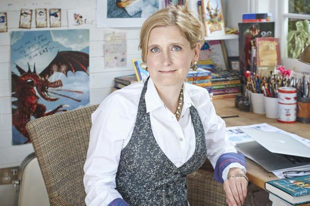 Cressida Cowell 213 (c) Debra Hurford Brown